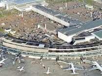 ホテルを空から撮った写真です