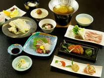 【みはらしコース】一番人気! 季節の食材を中心に使用したスタンダード会席全9~10品。
