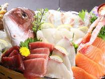 ◆新鮮魚介がたっぷり! 大家荘自慢!【名物・大舟盛り】が絶品!*