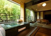 露天風呂付客室rocca「歩」竹林側の落ち着いた趣のお部屋