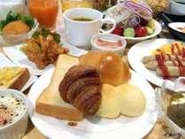 【朝食】約30種類和洋バイキング