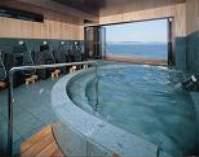最上階展望風呂「光れいれい」