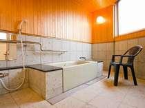 バリアフリー仕様客室 風呂