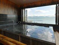 最上階展望風呂「海こうこう」