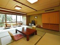 海を眺める客室(一例) 和みの寛ぎ空間