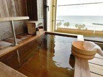 露天風呂付客室 一例(和室10畳+和風ダイニング+檜風呂)