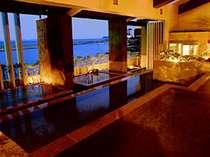 【淡路棚田の湯】 '06年7月OPENの棚田の湯。淡路島の原風景「棚田」をモチーフにした斬新なお風呂