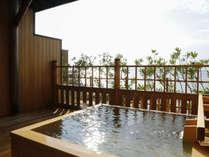 ■ <夢大地>露天風呂付和室 ※客室露天風呂の一例