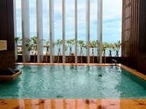 ■ 【淡路棚田の湯】 地元でとれた竹で作る竹炭を使った竹炭の湯。遠赤外線効果で体の芯までポカポカ