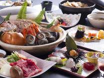 ■ 【秋の膳】秋の淡路の鮮魚と山里の幸をメインにちりばめた地産地消の旬のディナーコース