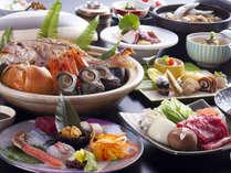 ■ 【冬の膳】冬の淡路の鮮魚と山里の幸をメインにちりばめた地産地消の旬のディナーコース