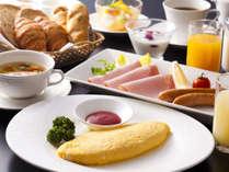 ■ 【洋朝食】ヴィラ楽園のアメリカンブレックファスト