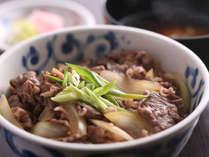 ■ 【島グルメランチ】淡路牛・淡路玉ねぎ・淡路米の3つの食材が競宴する、三拍子そろった淡路島牛丼