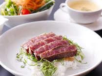 ■ 【島グルメランチ】淡路牛と淡路野菜のステーキ丼