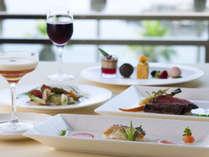 ■ 【レストラン シーサイド】新鮮な海の幸を彩り豊かなフレンチで