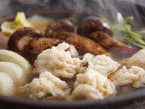 ■ 錦秋鱧と松茸、淡路玉葱のすき鍋 ※料理イメージ