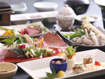 ■ 淡路島の海の幸・山里の幸を散りばめた懐石料理