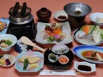ご夕食特別メニュー(一例)