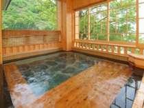 眺望も素敵な御婦人浴場の露天風呂