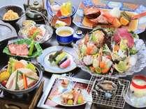 【グレードアップ】伊勢海老&アワビもしくは牛ステーキ&【オススメ】野菜寿司】※金目は2~3名様に1尾