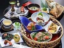 【昼食】かご膳ランチ 花コース(イメージ)