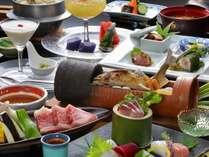 職人がひとつひとつ手作りの日本の食文化をご堪能下さい。