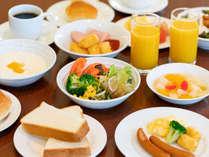 人気の朝食バイキング(お好きな物をチョイス!和食もご用意ございます)