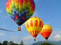 熱気球に乗って、地上30mからの景色を楽しんでみませんか?
