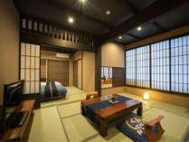 【特別室】信濃邸[桜] 露天風呂付和室