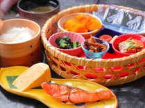 """◆朝食◆""""和食""""日笠<自慢のお米>に合う厳選した食材で作った料理を是非ご賞味ください"""