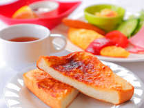 """◆朝食◆""""洋食""""ご当地名物で大人気アーモンドトースト♪"""