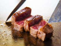 ◆国産牛ステーキ◆噛むほどに旨味溢れる極上の味わいをご堪能ください