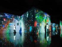 大人気「チームラボ」のアート展!幻想的なアートを間近で体験♪テクノロジーを駆使した近未来的アート