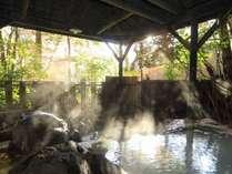 5つの貸切風呂:岩風呂