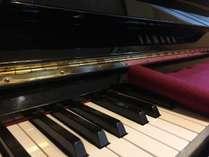 ピアノはご自由にどうぞ。
