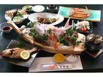 【北陸×海】朝獲れピチピチの舟盛り付きスタンダードプラン