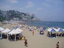 夏のサンビーチ