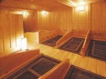 岩盤浴。檜の香りに癒されながら、マイナスイオン&遠赤外線の力で、体スッキリ!美肌効果も◎