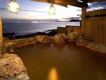 *見晴らしの良い、開放感あふれる露天風呂で、天然温泉をご堪能ください♪