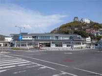 ■外観:尾道駅直結という最高の立地