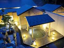 ≪大浴場外観≫約800坪の広大な広さを誇る大浴場。多種多様な湯船で温泉をご堪能下さい。