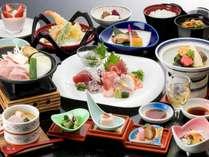 【お料理イメージ】海の幸を中心とした和食会席をご用意