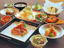 【お食事は軽めに】当館自慢の温泉とお料理を楽しむ★【2食付くまげらプラン】