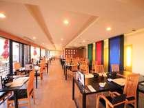 開放感のあるレストラン