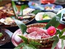 ごえもん亭で食す伊賀牛のあみ焼き料理…海鮮は付きませんが気軽にご利用いただける料金に!