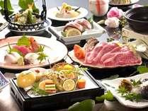 会席料理は見た目、味、そして何よりできるだけ伊賀でしか食べられないものを。