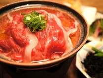 伊賀牛の小鍋。やわらかく…おいしいです。