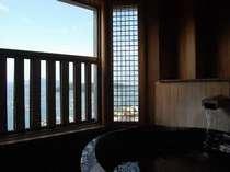 伊勢湾を望む最上階露天風呂付特別室