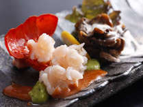 季節の料理一例~『伊勢海老の冷製サラダ仕立て』