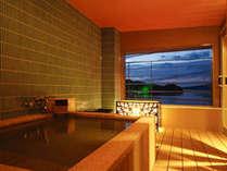 ~別邸 水の星~ 穏やかな海を眺める露天風呂